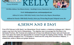 Kelly Summer Prayer Letter
